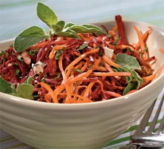 Салат из моркови и свёклы