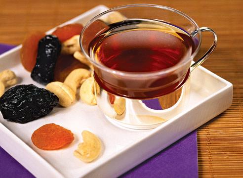 Чай с черносливом