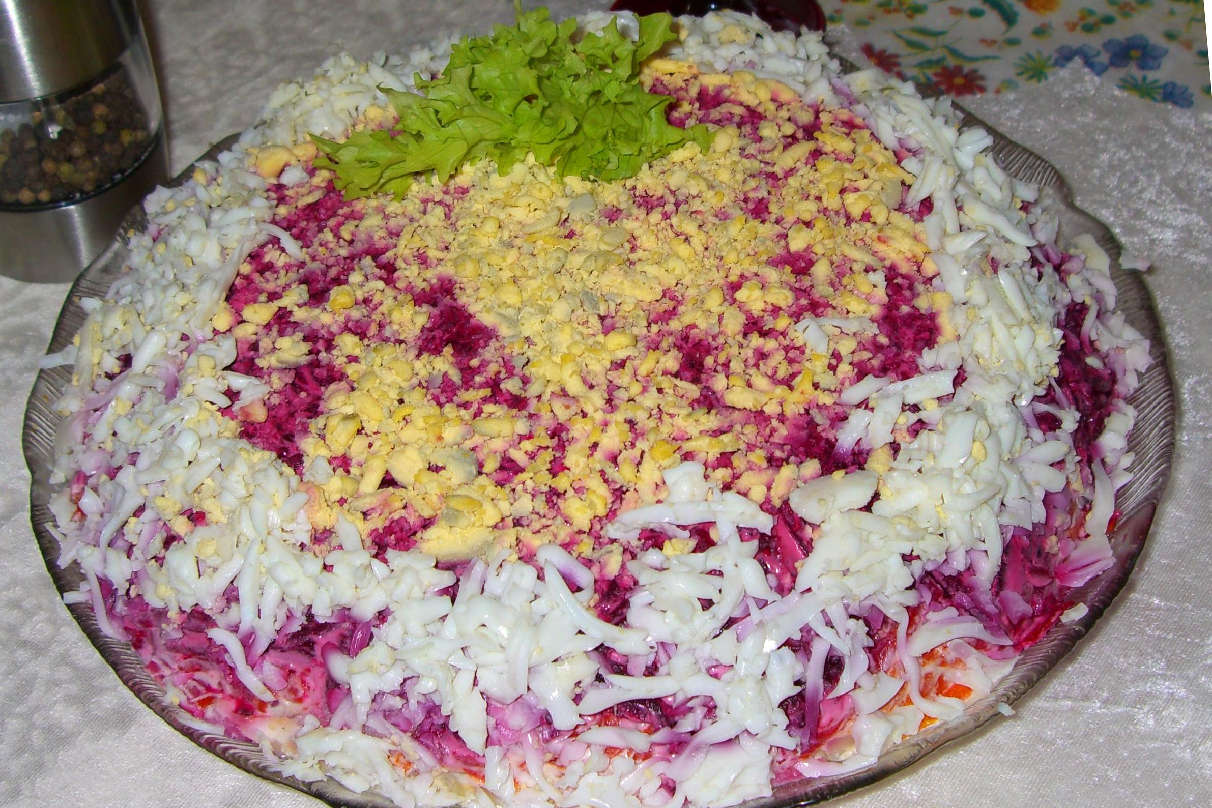 рецепт салат шуба пошаговый с фото