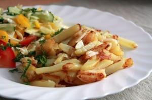 Как приготовить жареную картошку
