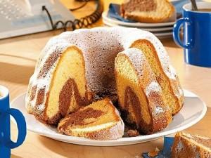 Как приготовить мраморный кекс
