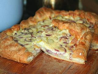 Как приготовить луковый пирог