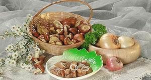 Маринованные маслята, рецепт приготовелиня