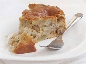 Нормандский пирог с яблоками