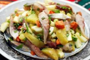 Салат из селёдки