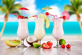 Как приготовить молочные коктейли